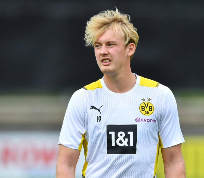 Brandt, la promesa que no se consolidó en Dortmund. Foto: Imago