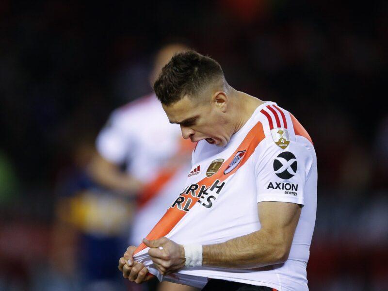 Rafael Santos Borré de River Plate a Eintracht Frankfurt. Foto: Imago.