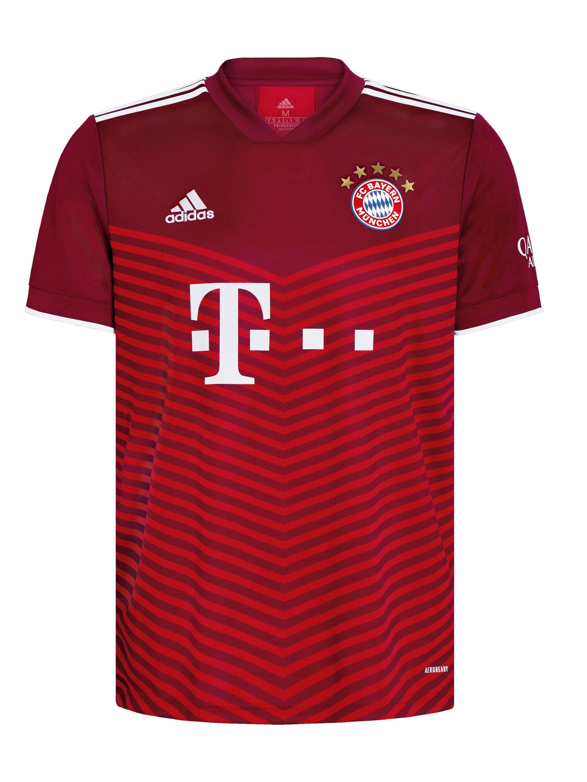 La quinta estrella, la otra gran novedad de la nueva equipación. Foto: Twitter FC Bayern