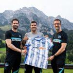 Jovetic, el nuevo refuerzo de Hertha BSC.