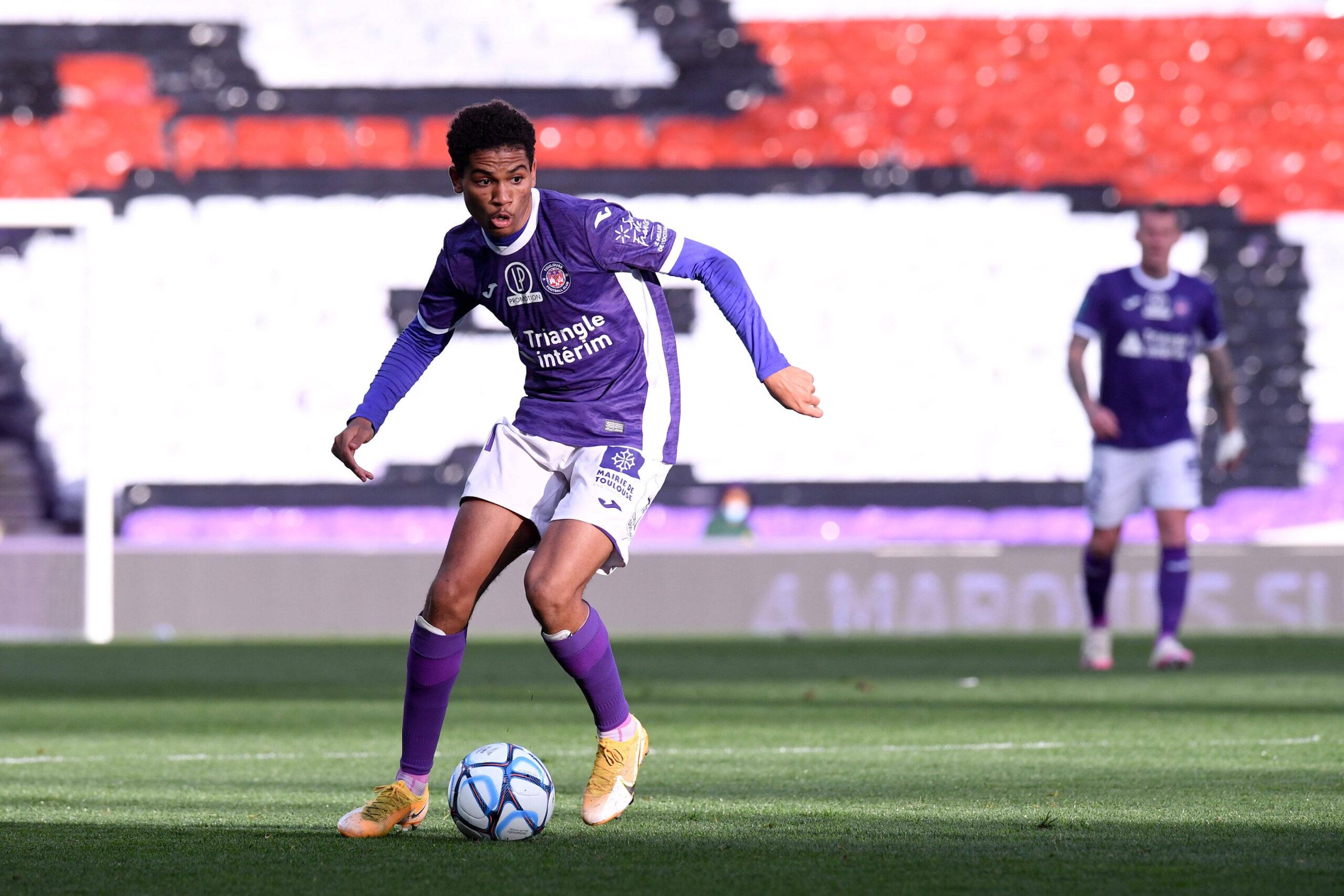 Adli, uno de los mayores talentos de la Ligue 2. Foto: Imago