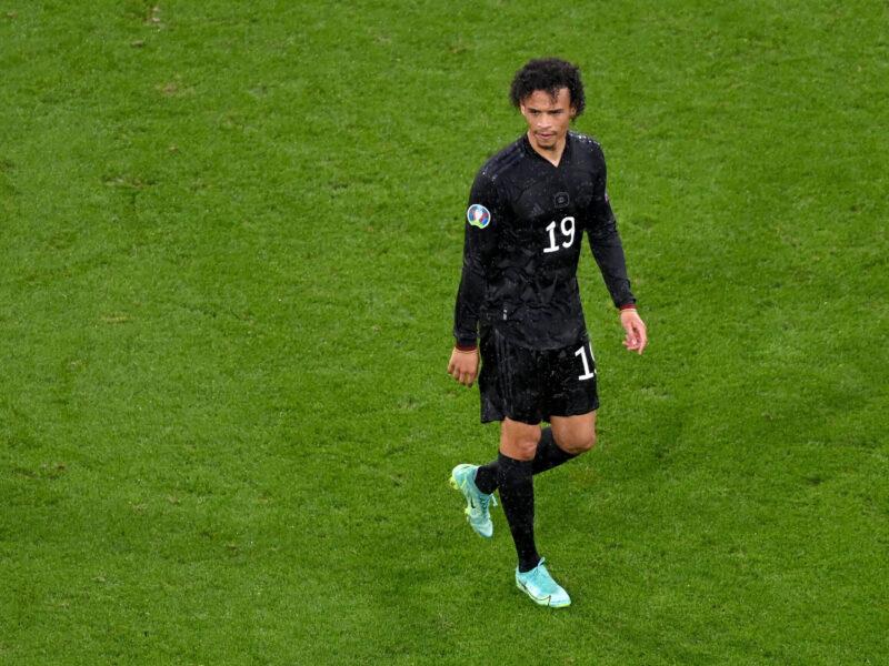 Leroy Sané, una de las decepciones de Alemania en la última Eurocopa. Foto: Imago