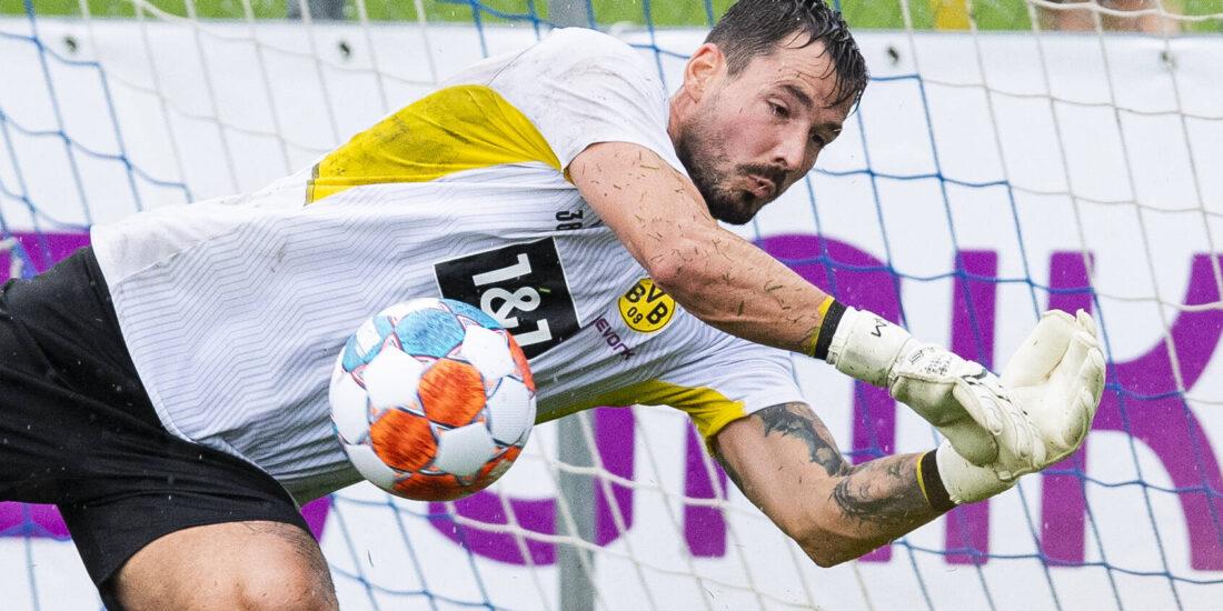 Roman Bürki, el portero buscado por Atlético Madrid. Foto: Imago.