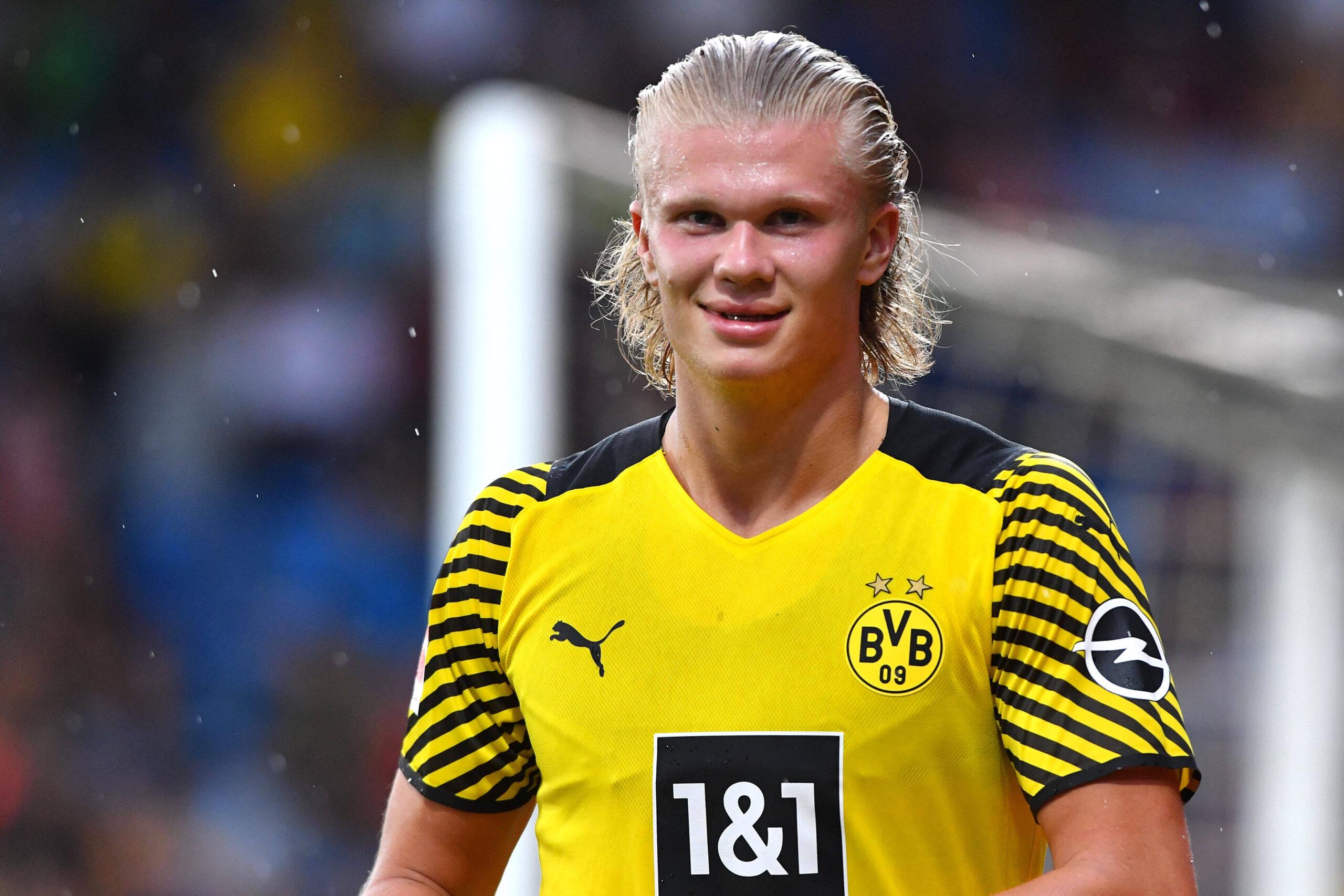 Haaland vive sólo el presente con el Dortmund. Foto: Imago
