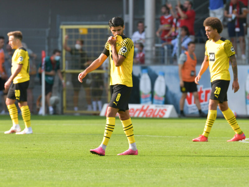 Mientras Borussia Dortmund ya ha caído en la segunda fecha de la Bundesliga frente a SC Freiburg, RB Leipzig se repuso y goleo por 4::0 a Stuttgart. Foto: Imago.
