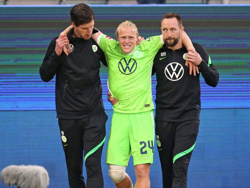 Schlager, una baja muy sensible para el Wolfsburg de Mark van Bommel. Foto: Imago