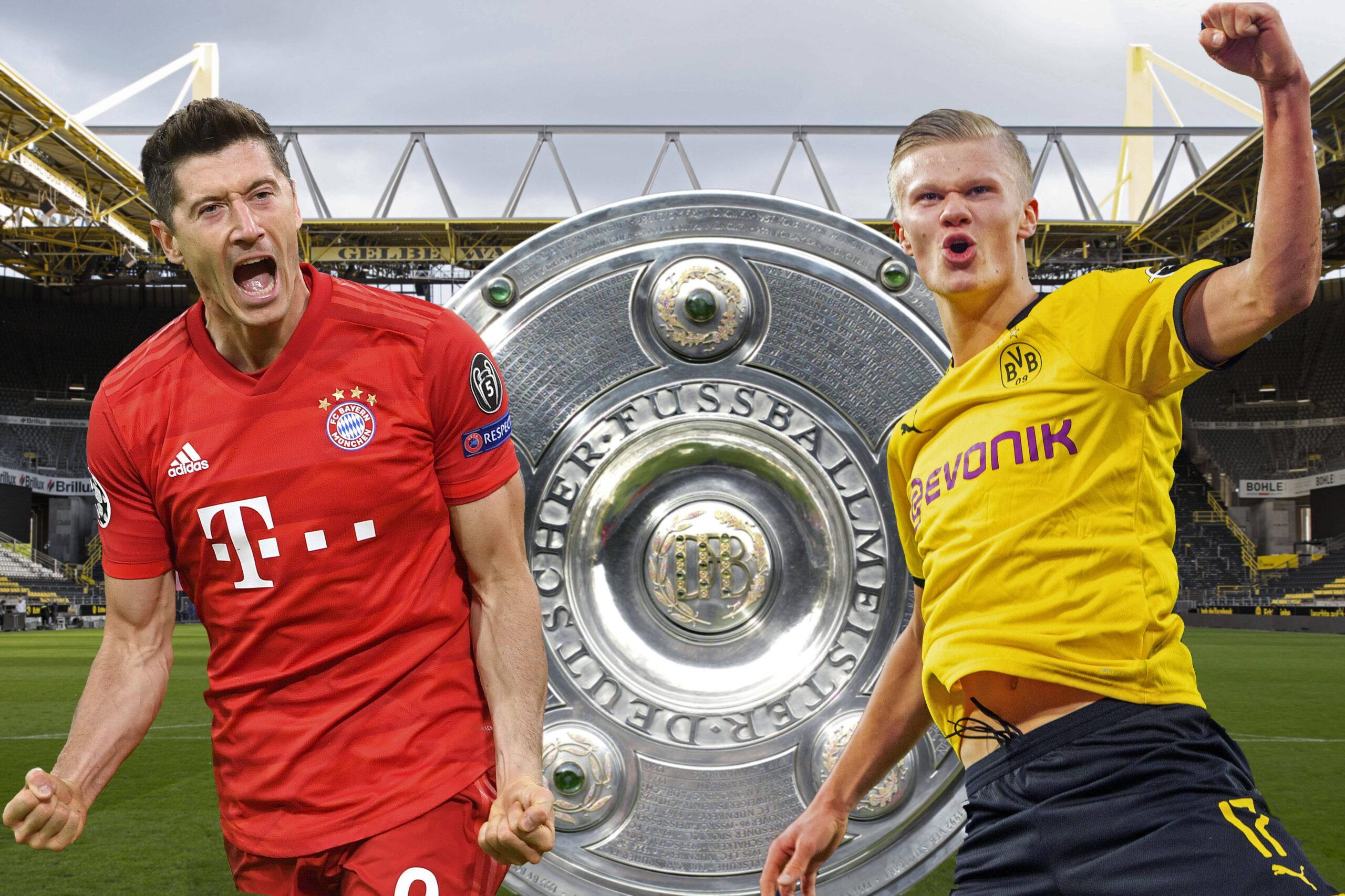 Robert Lewandowski y Erling Haaland no son los únicos grandes goleadores de la Bundesliga. Foto: Imago.
