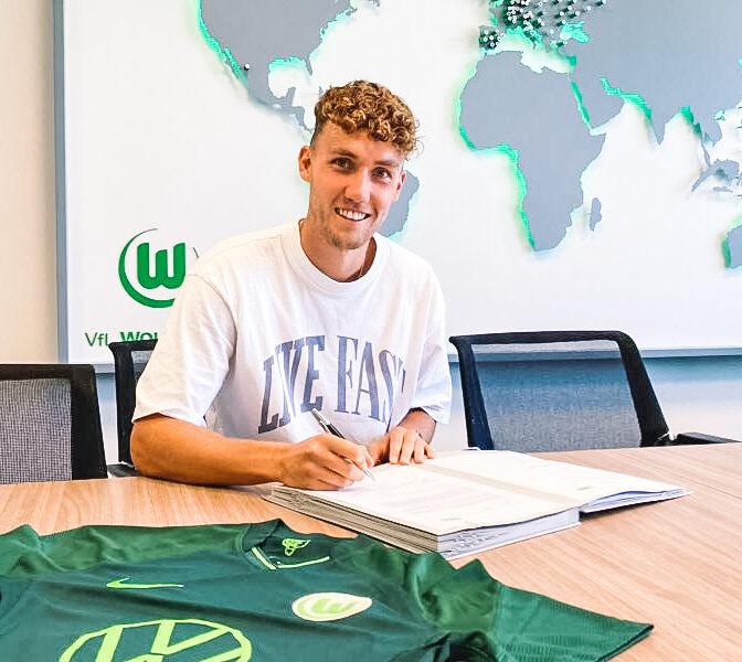Waldschmidt vuelve a la Bundesliga de la mano de Los Lobos. Foto: VfL Wolfsburg
