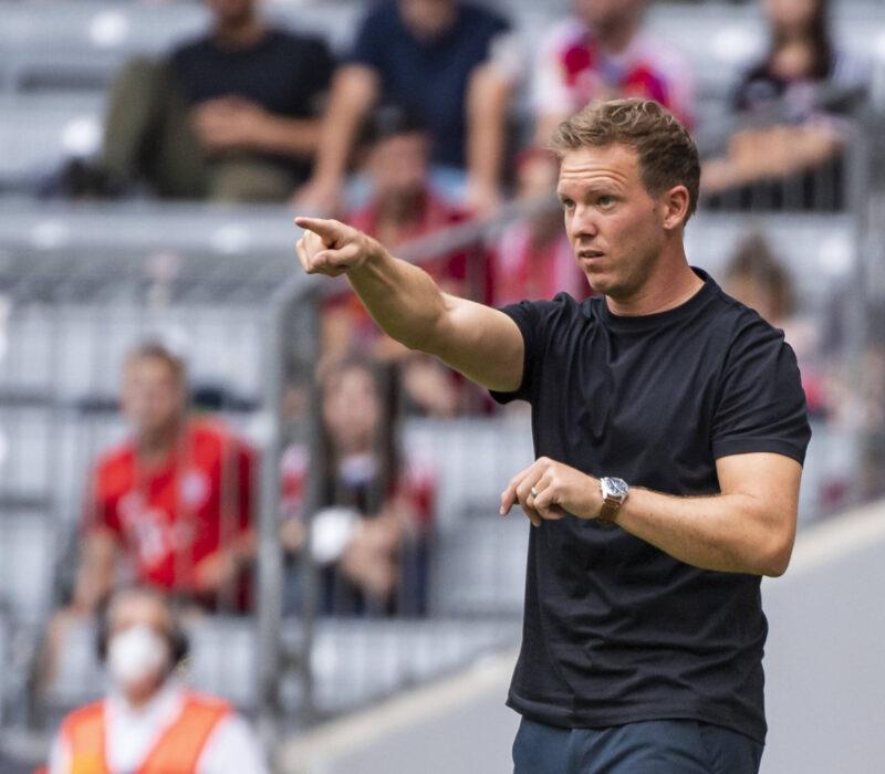 Julian Nagelsmann no ha arrancado del todo bien en FC Bayern München. Foto: Imago.