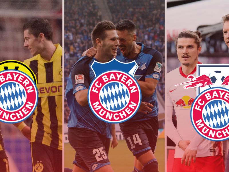 FC Bayern ha desplazado a todos sus rivales, ¿Hará lo mismo con RB Leipzig? Fotos: Imago.