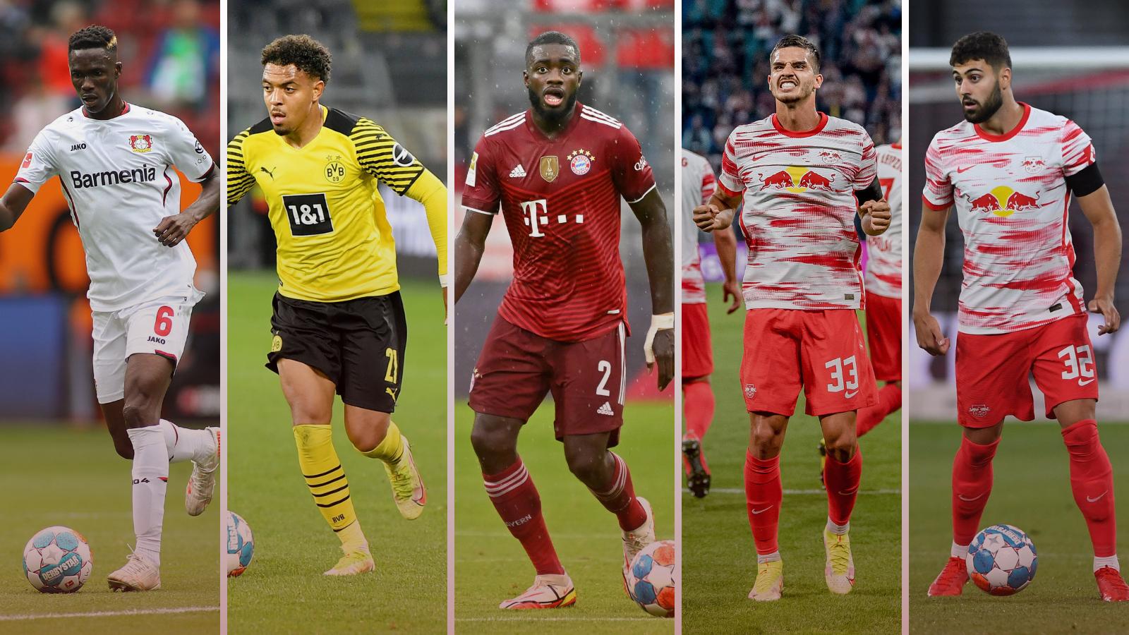 Acá están, estos son los 5 fichajes más caros del mercado de fichajes de verano de la Bundesliga. Foto: Imago.
