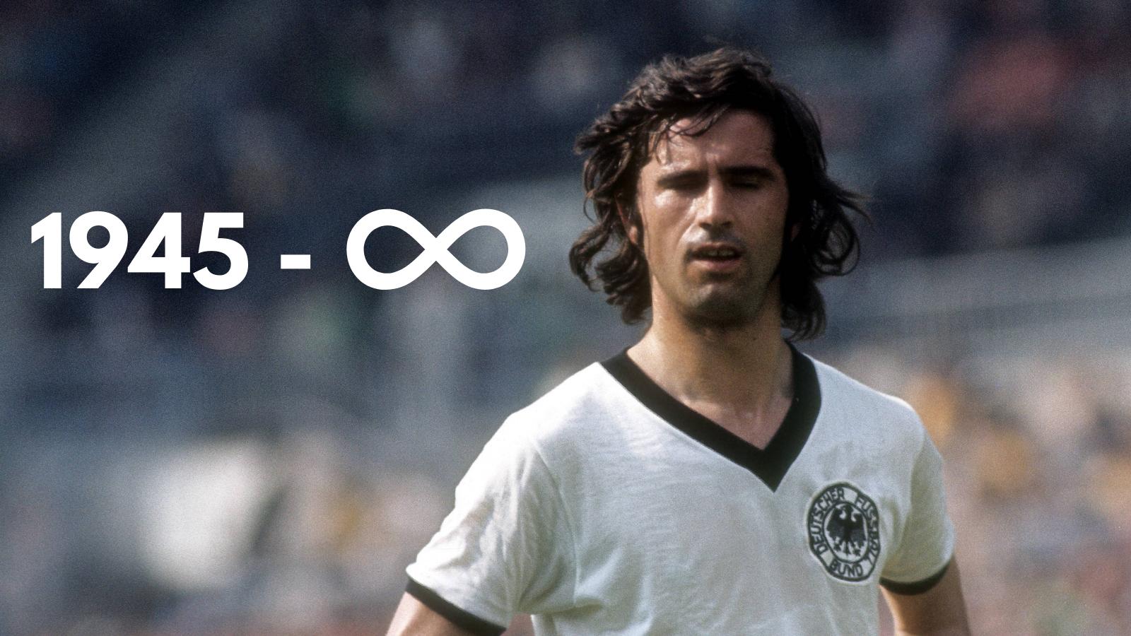 Gerd Müller fallece a los 75 años. Foto: Imago.