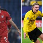 Robert Lewandowski y Erling son los únicos jugadores de la Bundesliga presente en los premios de la UEFA. Fotos: Imago.