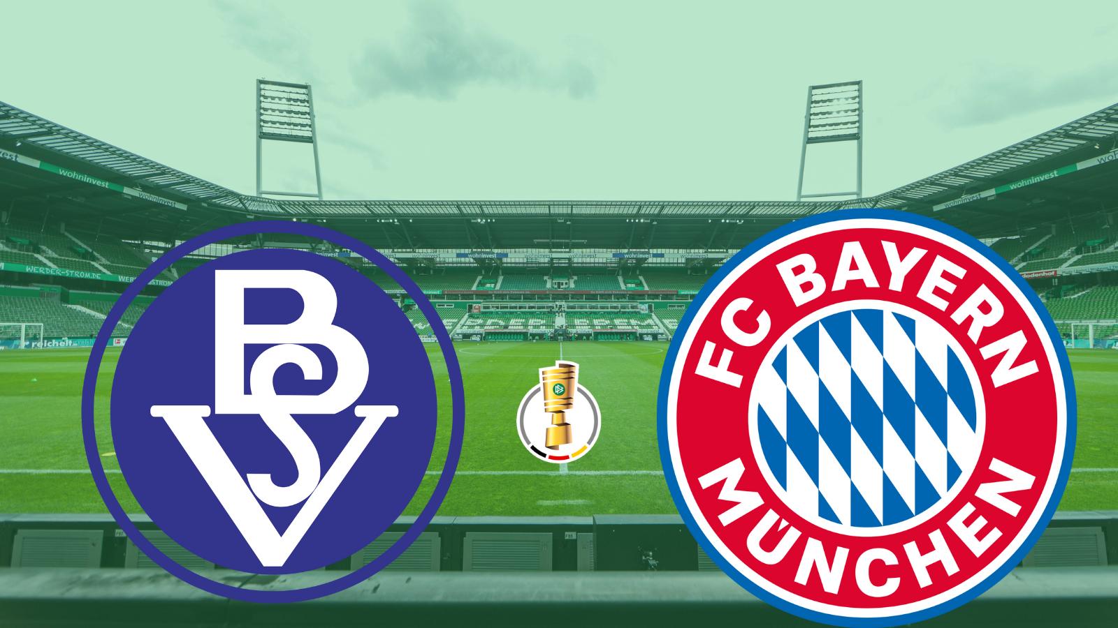 FC Bayern se estrena en Pokal frente al humilde Bremer SV.
