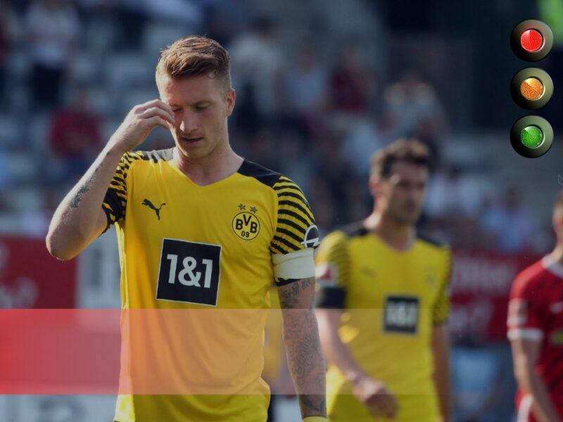 Reus frustrado por la derrota de Borussia Dortmund, la decepción de la fecha. Foto: Imago