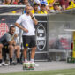Marco Rose preocupado con la enfermería de Borussia Dortmund. Foto: Imago.