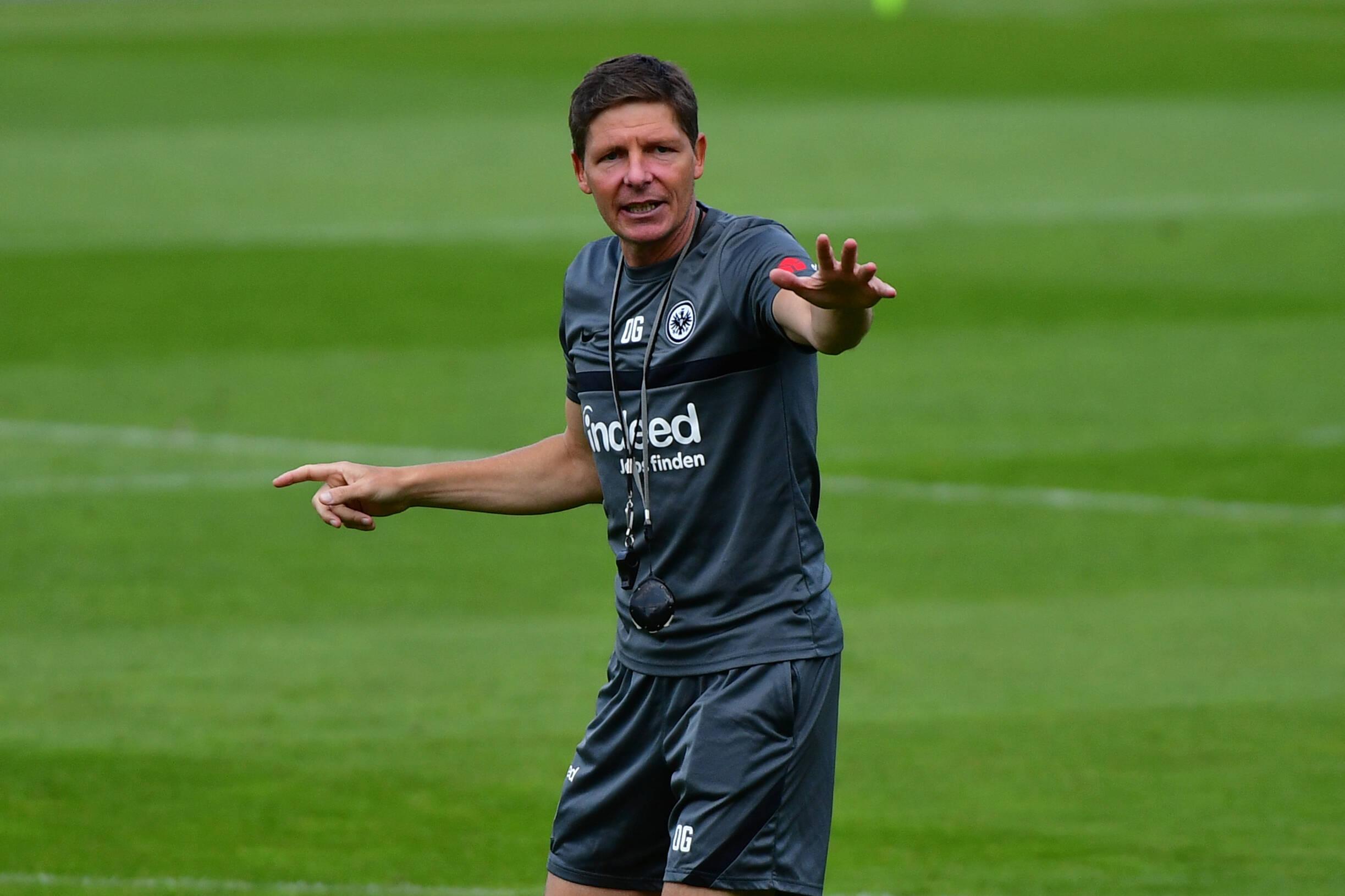 Oliver Glasner abre la polémica entre Eintracht Frankfurt y Wolfsburg. Foto: Imago.