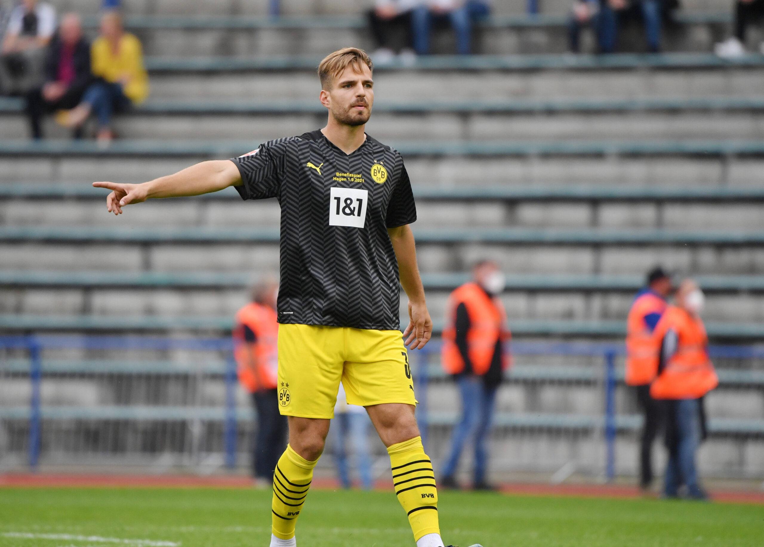 Marin Pongracic ya pudo disputar sus primeros minutos con la camiseta de Borussia Dortmund. Foto: Imago