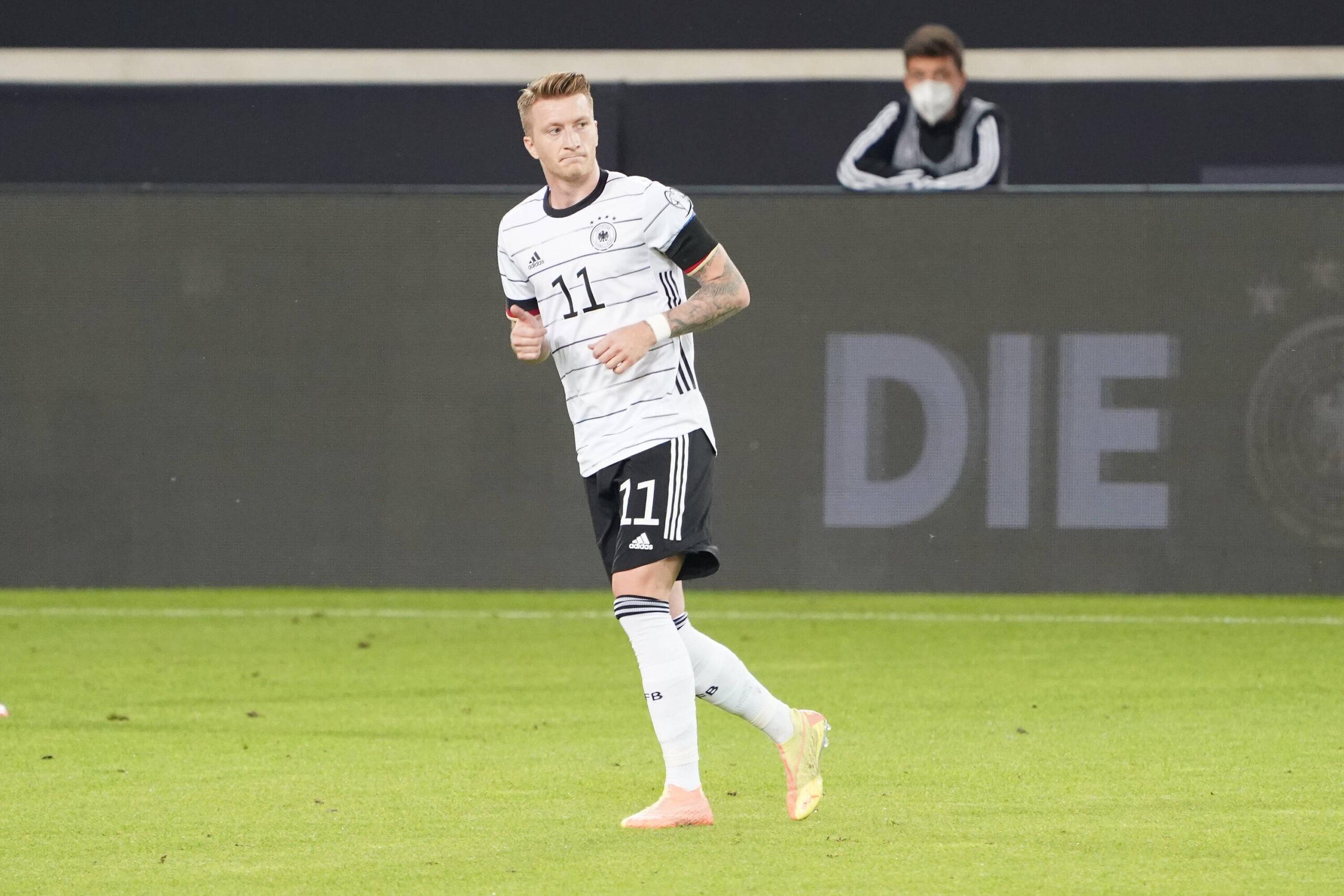 Marco Reus, otra vez, lesionado. Foto: Imago.