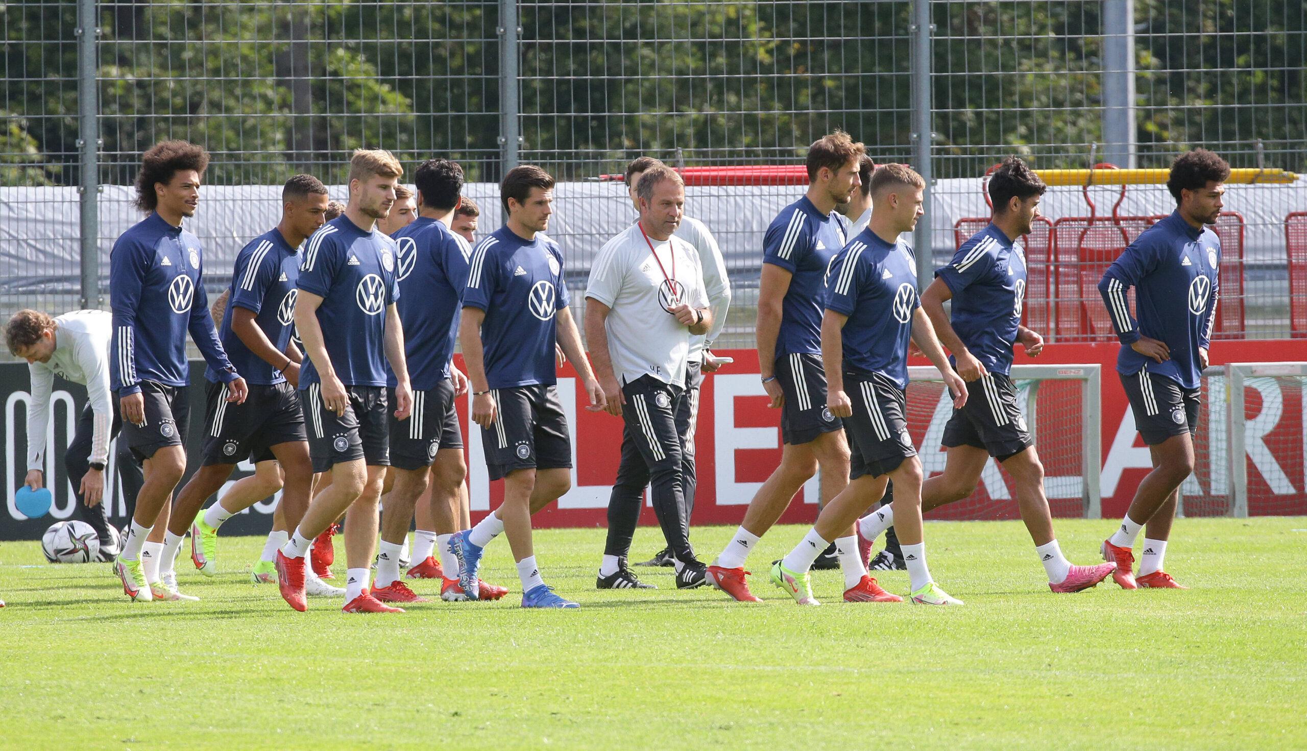Alemania, preparada para su último encuentro en este parón de selecciones. Foto: Imago