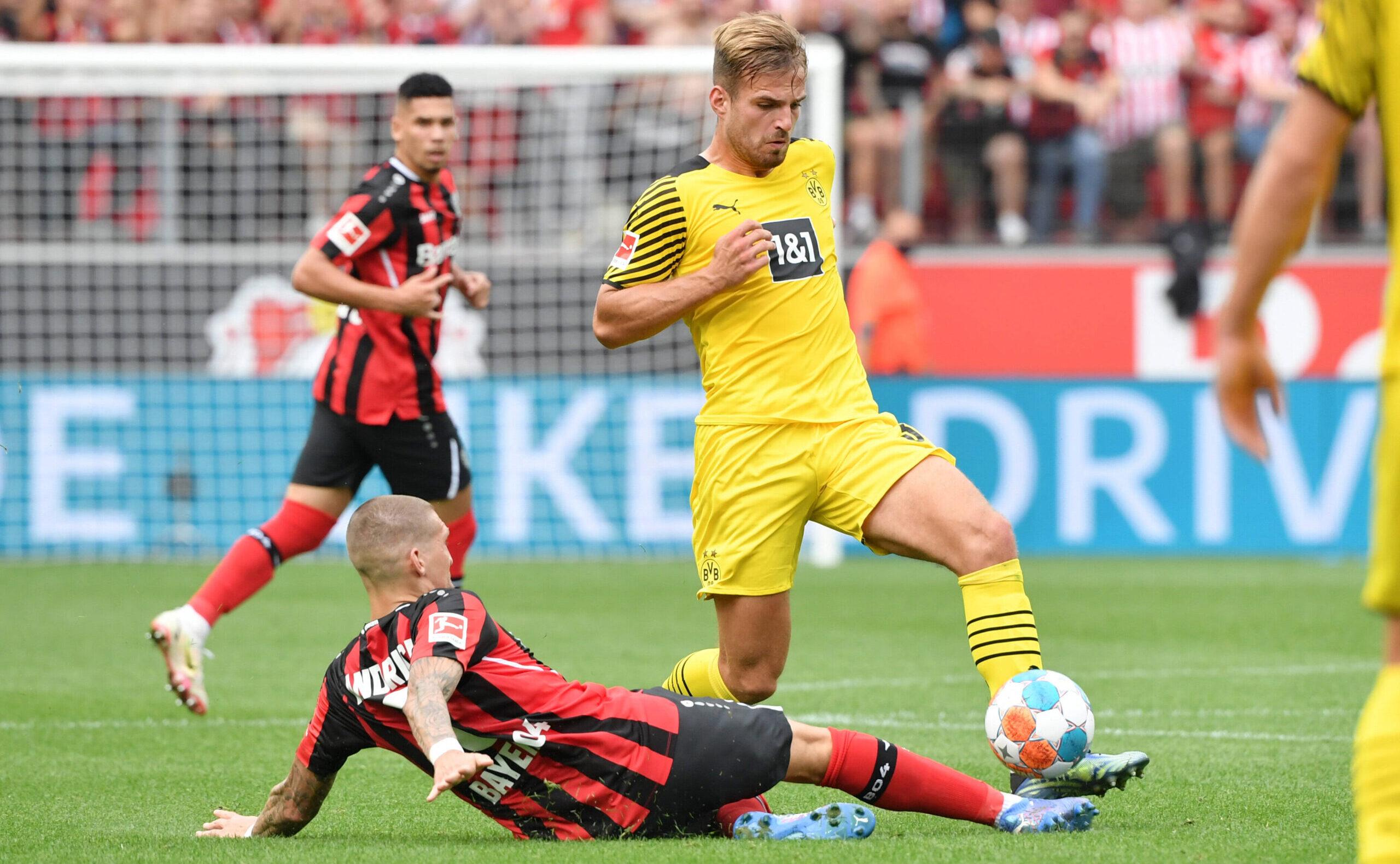Marin Pongracic espera más apariciones después de su estreno con la camiseta del BVB. Foto: imago images / Team 2