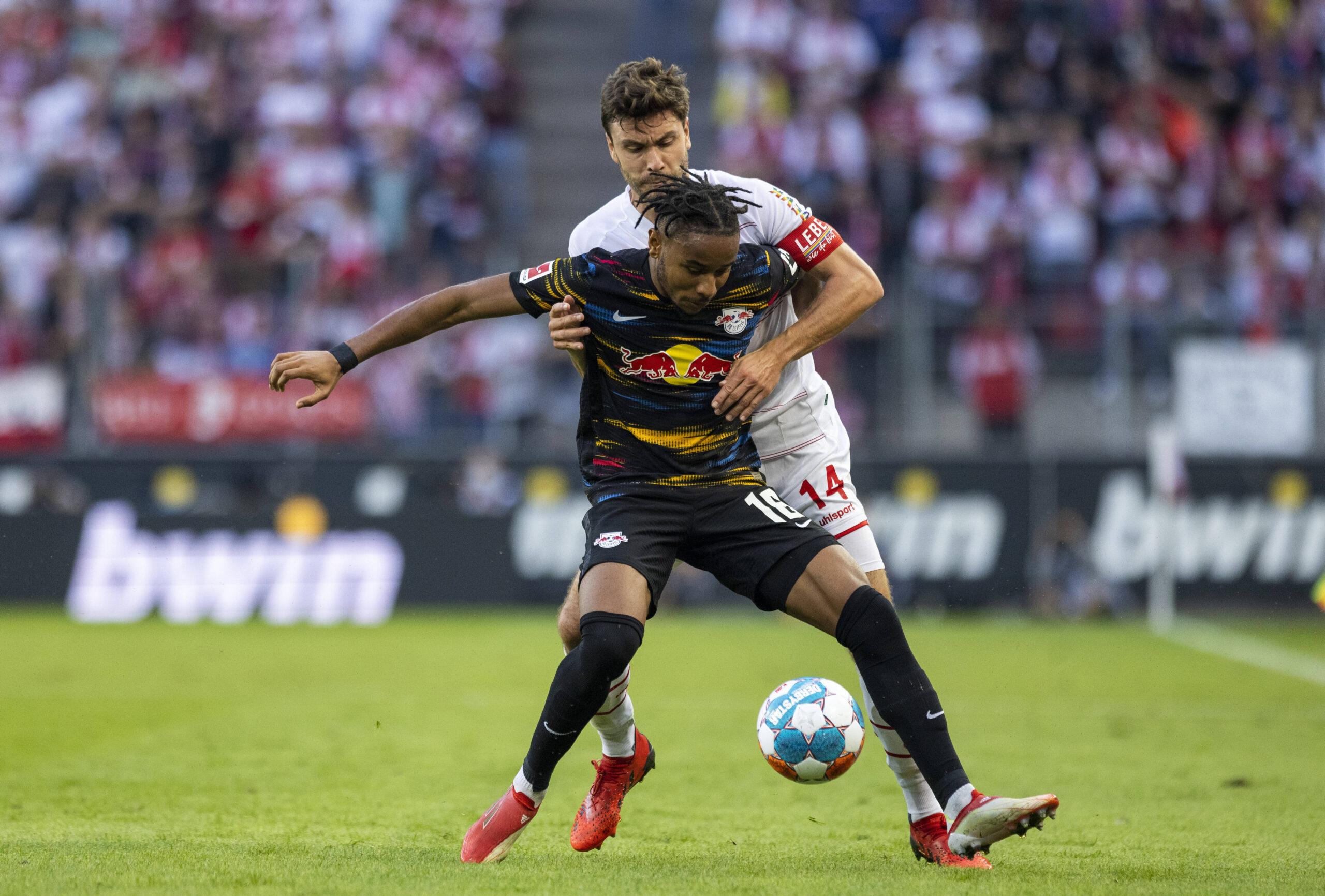RB Leipzig no pudo con FC Köln y las dudas crecen. Foto: Imago.