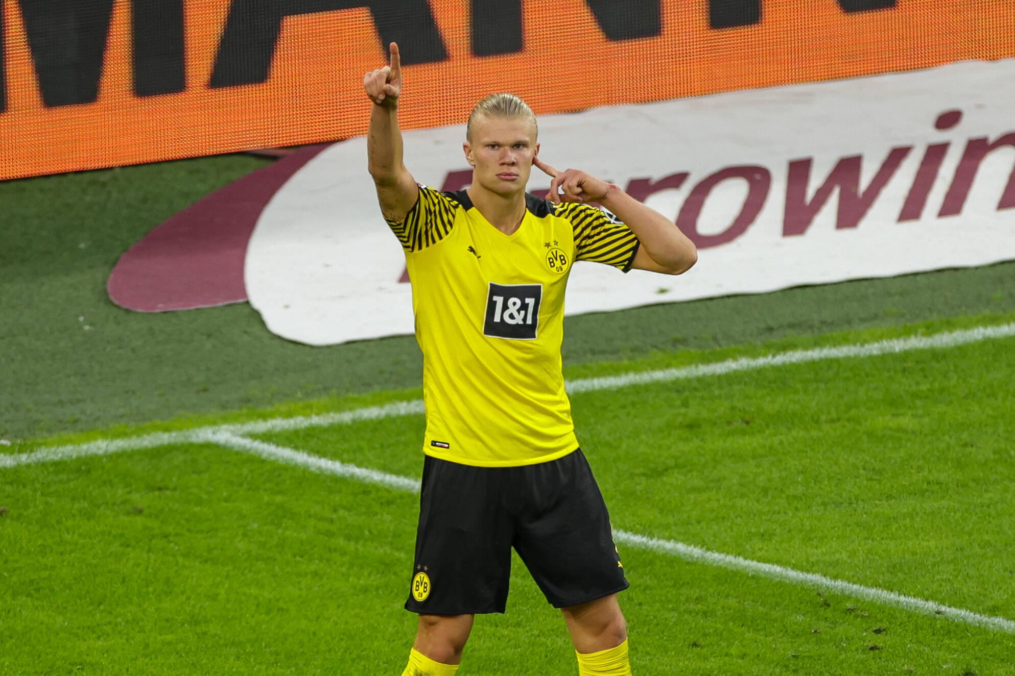 Borussia Dortmund quiere intentar lo imposible por Haaland. Foto: Imago