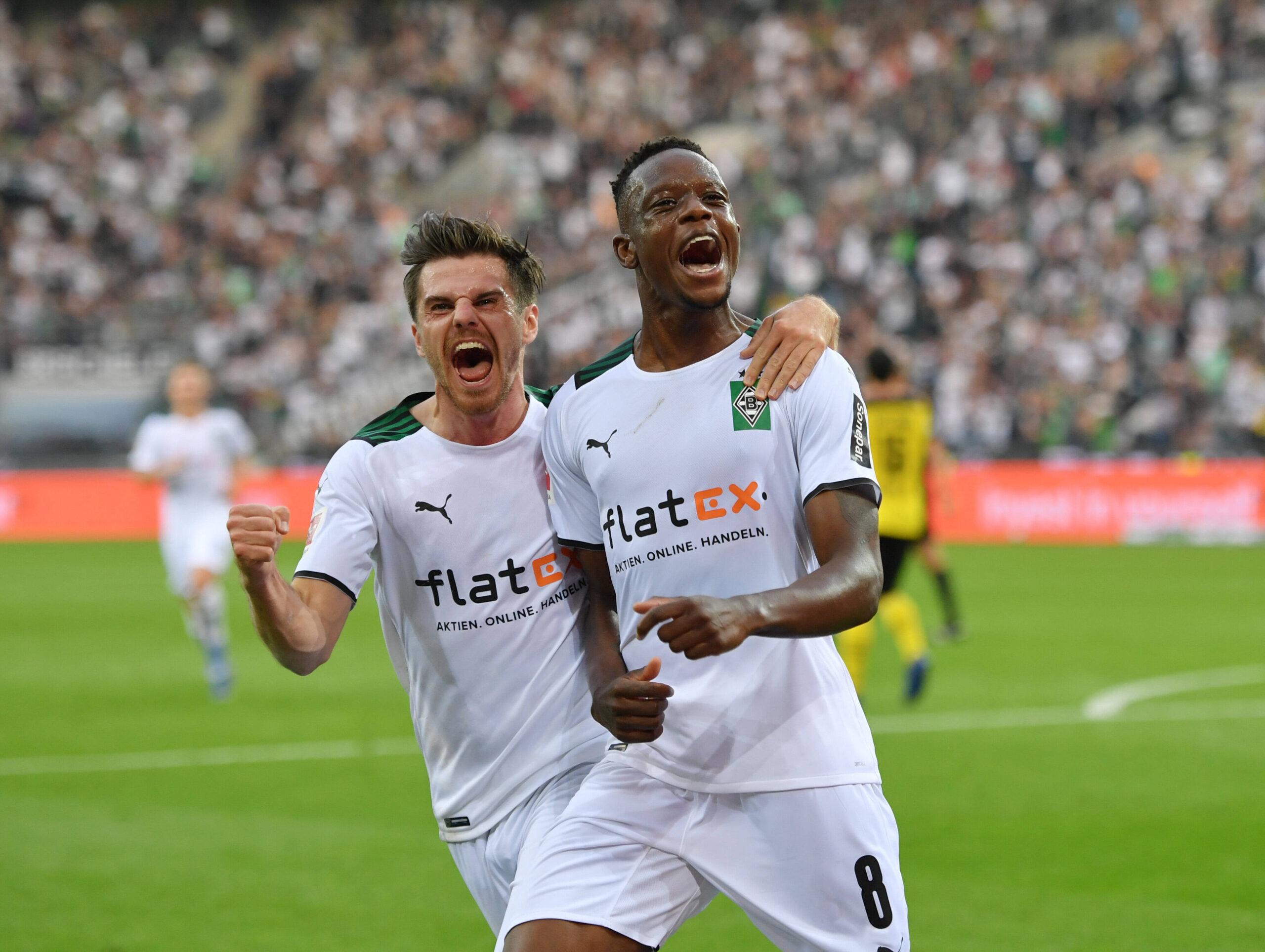 Zakaria, el goleador del Derbi de los Borussias. Foto: Imago.