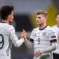 Timo Werner y Leroy Sané podrían intercambiar equipo si Chelsea y FC Bayern München concretan su trueque. Foto: Imago.