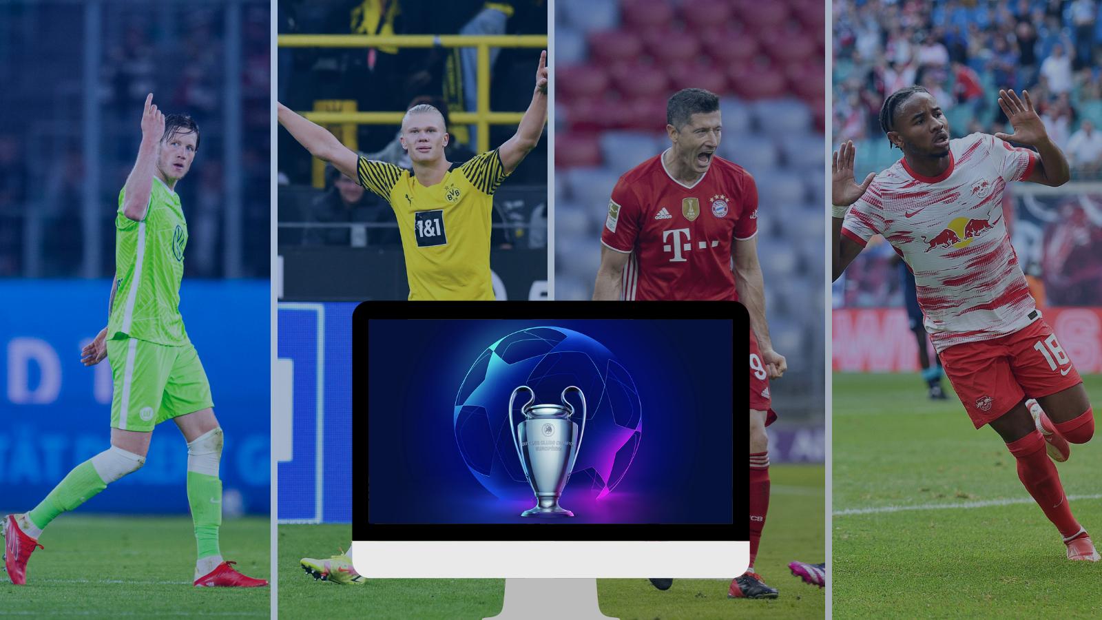 Los alemanes juegan por Champions League y te contamos donde los puedes ver. Fotos: Imago.