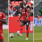 Awoniyi, Kossounou y Nmecha, los mejores fichajes de los tres equipos más destacados de la Bundesliga en el mercado. Foto: Imago
