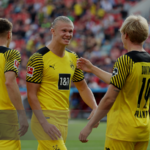 Haaland y Brandt, los que brillaron para darle al Dortmund los tres puntos. Foto: Imago