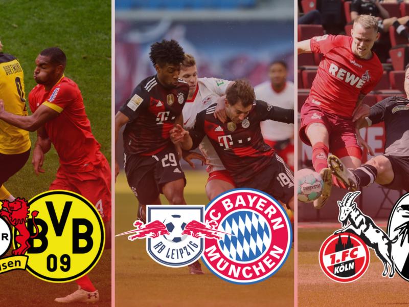 Estos serán los partidos más destacados de la jornada 4 de Bundesliga. Fotos: Imago.