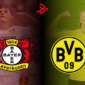 Patrick Schick y Erling Haaland pondrán el show en las áreas del Bayer Leverkusen - Borussia Dortmund. Fotos: Imago.