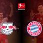 André Silva y Robert Lewandowski los dos animadores del duelo entre RB Leipzig y FC Bayern München. Foto: Imago.