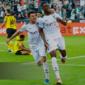 Zakaria y el segundo tropiezo de la temporada para el Dortmund.