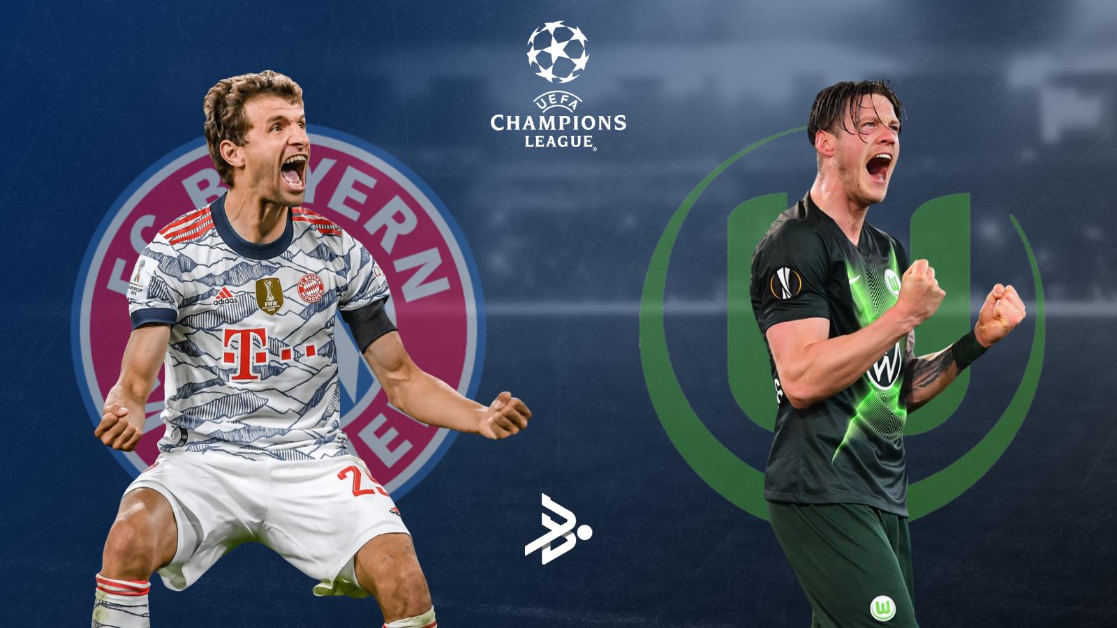 Bayern y Wolfsburg, los representantes alemanes en Champions este miércoles.
