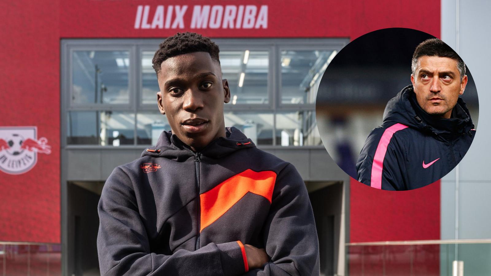 Francisco Javier Garcia Pimienta, habló de las impresiones que le dejó Ilaix Moriba en el tiempo que compartieron en FC Barcelona. Foto: Imago.