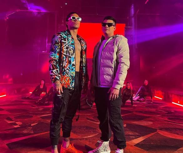 Carlos Salcedo se muda al reggaeton. Foto: Instagram Chayin Rubio