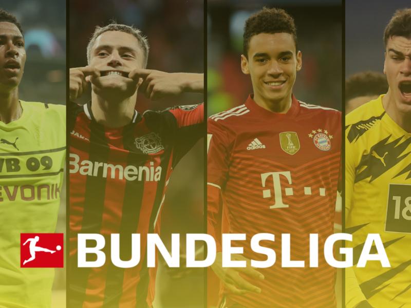 La Bundesliga con cuatro de 10 nominaciones se quiere quedar con el balón de oro juvenil. Foto: Imago.
