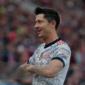 Lewandowski tapa de otro semáforo de Mi Bundesliga. Foto: Getty Images.