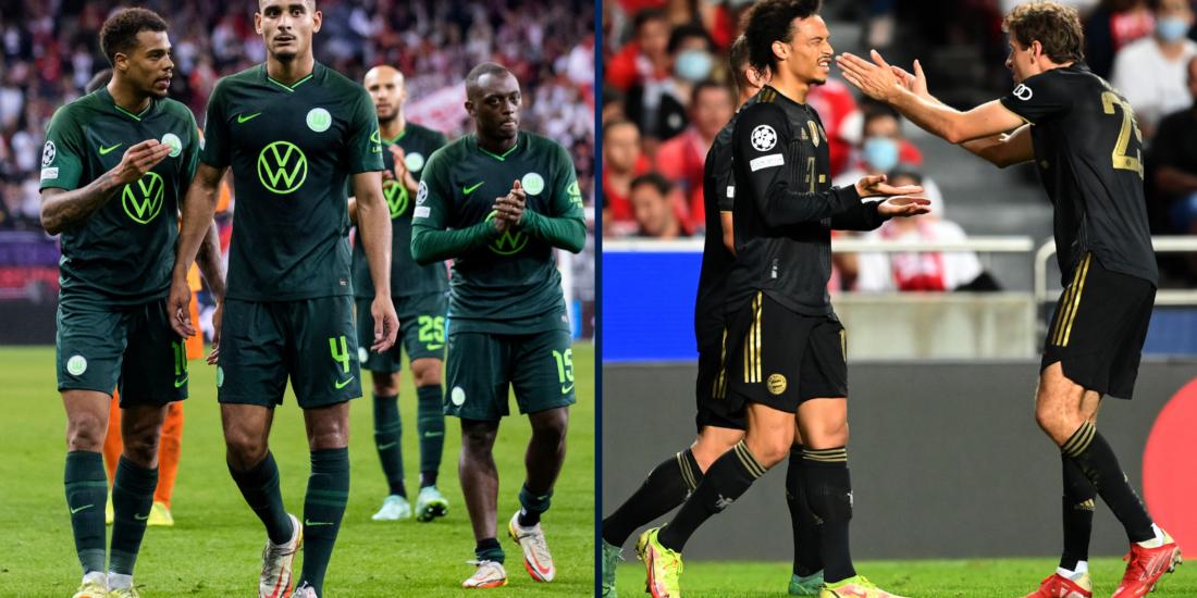 Wolfsburg perdió y Bayern salvó la honra en Champions League. Foto: Getty Images