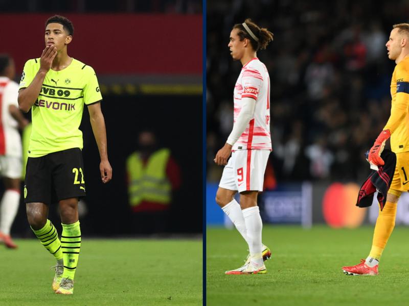 Dortmund no ha podido estar a la altura y RB Leipzig cayó en el último suspiro. Foto: Getty Images.