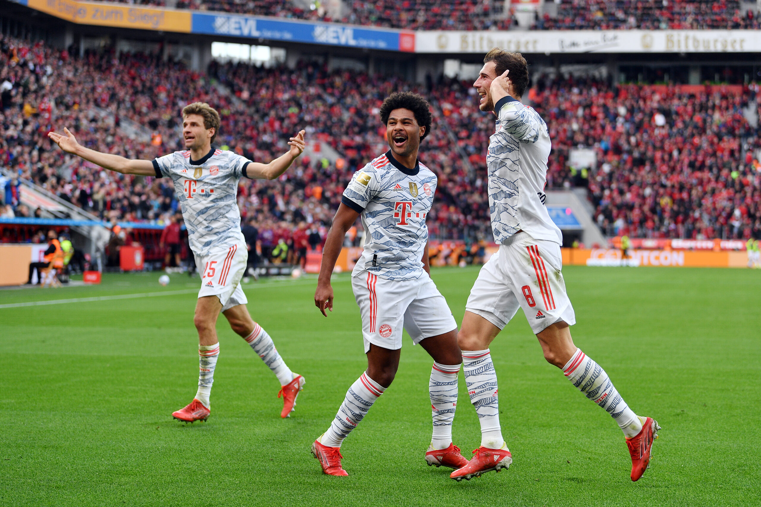 FC Bayern München domina a gusto y placer. Foto: Getty Images.