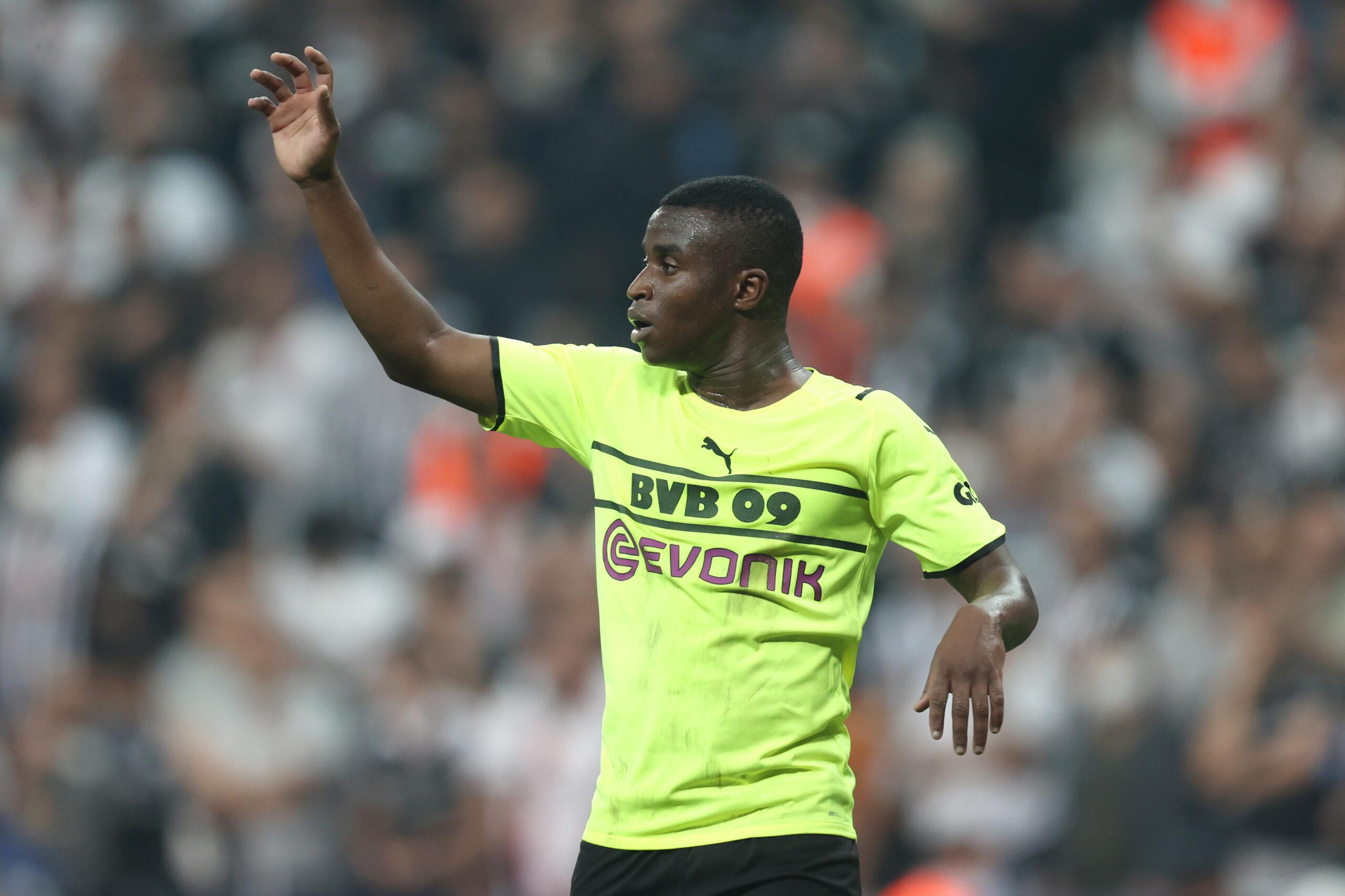 Los Borussos no ven a Youssoufa Moukoko formándose fuera de Dortmund. Foto: Getty Images
