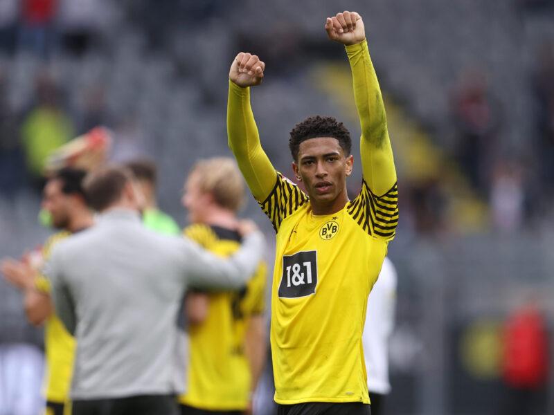 Jude Bellingham, la joya más preciada de Borussia Dortmund. Foto: Getty Images.