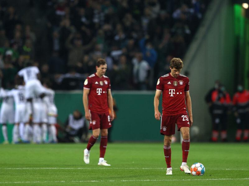 El Gladbach da la campanada con una goleada histórica en Pokal: Foto: Getty Images
