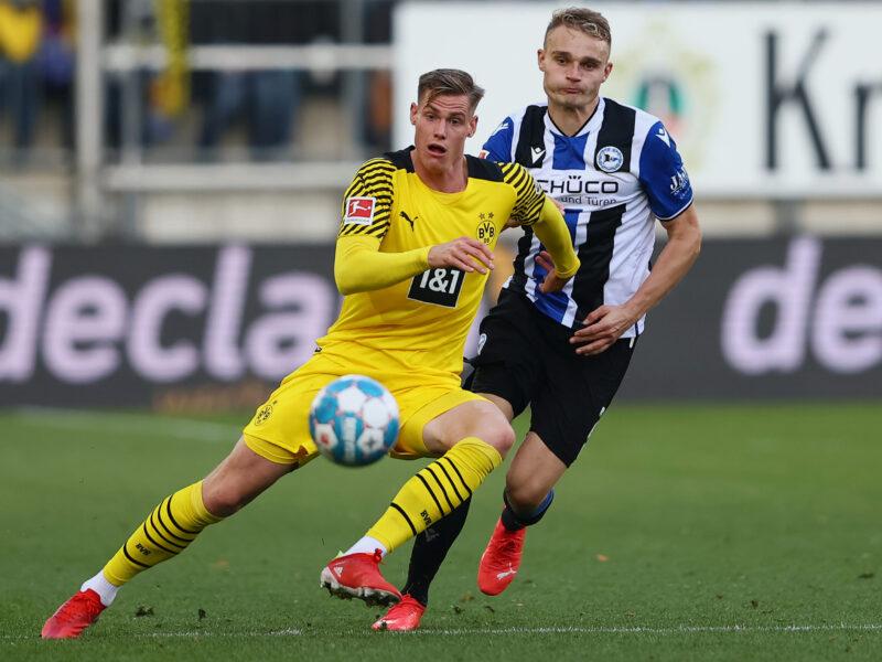 Steffen Tigges, el delantero que buscará suplir a Haaland. Foto: Getty Images.