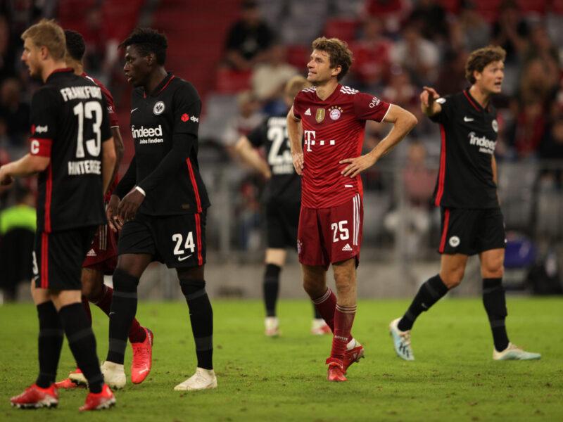Müller, resignado al no encontrar portería con el Bayern. Foto: Getty Images