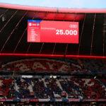 Todo volverá a su normalidad en el Allianz Arena y en el resto de los estadios de Baviera. Foto: Imago.